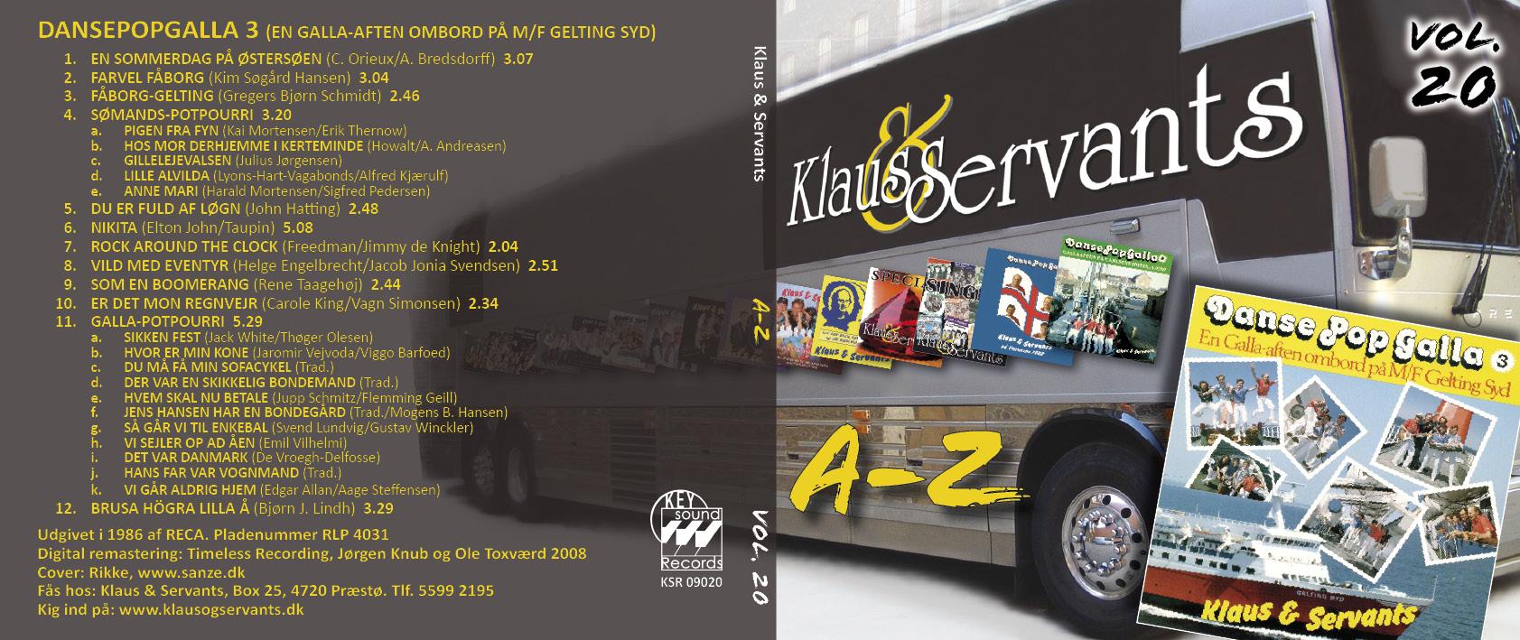 Klaus & Servants* Klaus And Servants - Maryann / Sweet Sweet Lady